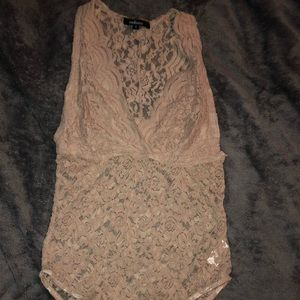 Other - Lace body suit